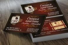 Разработаю дизайн двусторонней визитки 13 - kwork.ru