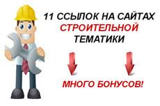 Размещу ссылки 10 - kwork.ru