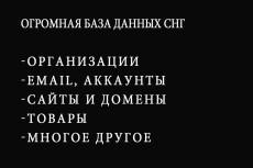 92.076 интернет-магазинов РФ, Казахстана, Украины и Беларусь 4 - kwork.ru
