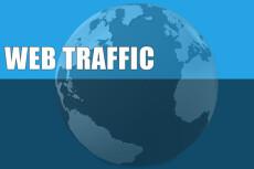 Трафик 150 уникальных посетителей в день 12 - kwork.ru