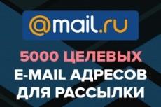 Подберу базу email из  открытых источников по вашим ключевым запросам 10 - kwork.ru