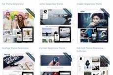 Wordpress Премиум шаблоны 24 - kwork.ru