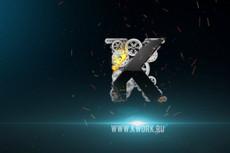 Сделаю 1 видео-визуализацию вашего логотипа или текста 28 - kwork.ru