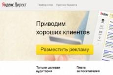 Клиенты из Яндекса - до 100 уникальных объявлений 7 - kwork.ru