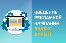 Ведение рекламной кампании в Яндекс директ 8 - kwork.ru