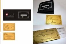 предоставлю Вам макет вашей визитной карточки 3 - kwork.ru