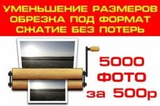 Уменьшу вес картинок без потери качества 37 - kwork.ru