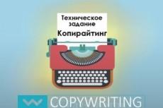 Составлю 5 профессиональных ТЗ копирайтеру на рерайтинг 14 - kwork.ru