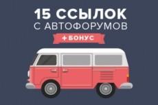 20 вечных ссылок с автомобильных сайтов 14 - kwork.ru