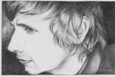 Простой карандаш и краски, портрет по Вашему фото 26 - kwork.ru