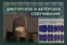 Озвучу приложения, книги 11 - kwork.ru