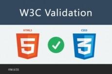 Исправлю проблемы HTML по стандарту W3C 7 - kwork.ru