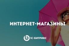 Готовый интернет-магазин на Битрикс. На любую тематику 6 - kwork.ru