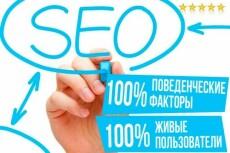 Улучшение поведенческого фактора - 2500 посетителей на сайт 10 - kwork.ru