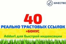 Трастовые ссылки с ТИЦ, общий ТИЦ 700 000+ 15 ссылок 19 - kwork.ru