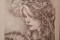 Портрет карандашом 10 - kwork.ru