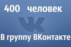 400 человек в друзья/подписчики ВКонтакте 4 - kwork.ru