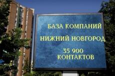 50000 контактов компаний Екатеринбурга 20 - kwork.ru