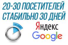 Качественный трафик. 5000 посетителей из Москвы и области 26 - kwork.ru