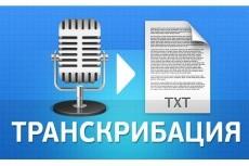 Транскрибация, расшифровка текста 10 - kwork.ru