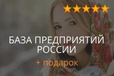 База промышленных предприятий организаций в сфере производства 14 - kwork.ru