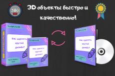 Виртуальная упаковка DVD 5 штук 28 - kwork.ru
