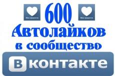Добавлю 500 подписчиков в группу или паблик Вконтакте 10 - kwork.ru