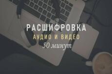 Транскрибация аудио, видео в текст 52 - kwork.ru