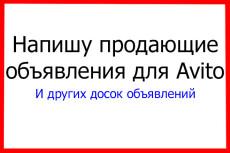 Напишу 5 продающих объявлений для продаж на Авито 8 - kwork.ru