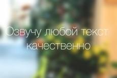 Качественно и быстро озвучу текст любой сложности 13 - kwork.ru