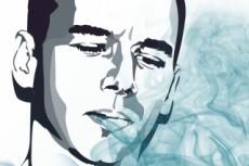 Графический портрет в Photoshop по фото 12 - kwork.ru