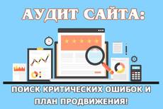 Ручной аудит сайта + план продвижения для выхода в ТОП Яндекс И Google 27 - kwork.ru