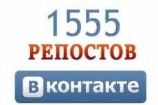 Сделаю 200 репостов Вконтакте на вашу запись 11 - kwork.ru