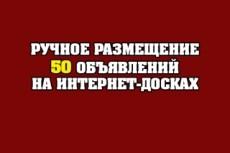 Ручное размещение Вашего объявления на 57 популярных досках 8 - kwork.ru