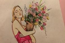 Напишу цветной портрет 19 - kwork.ru