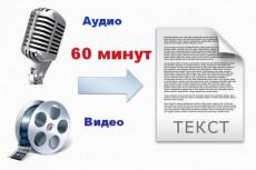 Качественная транскрибация, перевод аудио и видео в текст 19 - kwork.ru