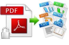 Работа с PDF файлами, сжатие их размера в 10 раз 4 - kwork.ru
