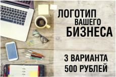 Красивый и цепляющий логотип для Вашего бизнеса 9 - kwork.ru