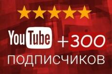 Добавлю 250 подписчиков на ваш канал YouTube | Ручная работа, без списаний 15 - kwork.ru