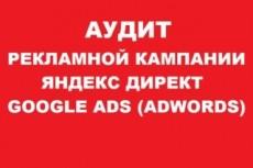Аудит и корректировка рекламных кампаний в Яндекс Директ 12 - kwork.ru