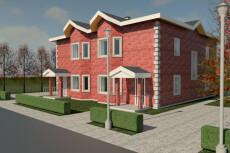 Визуализирую ваш проект дома в 3D 48 - kwork.ru