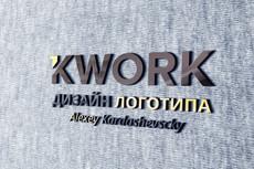 Разработаю уникальный логотип 2 варианта 29 - kwork.ru