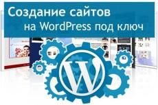 Сайт на WordPress, установка шаблона, настройка 13 - kwork.ru