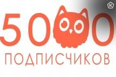 5000 подписчиков в instagram + гарантия+10000 лайков 44 - kwork.ru