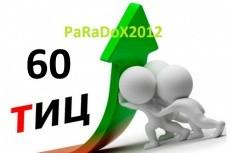 Помощь в подборе 2 освобождающихся доменов с Тиц 40 12 - kwork.ru