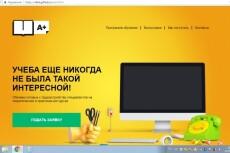 Оформлю лендинг на Wix.com, Викс 11 - kwork.ru