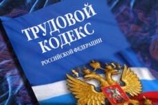 Опытный юрист. Консультирую по вопросам трудового права 15 - kwork.ru