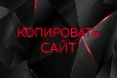 Скопирую Landing page, одностраничный сайт и установлю редактор 115 - kwork.ru