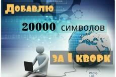 Напишу 15000 з. б. п. за 1 кворк 3 - kwork.ru