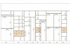 Планировка квартиры с расстановкой мебели 42 - kwork.ru